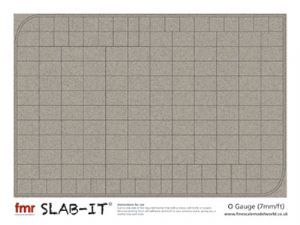 Slab-It© 7mm/ft (O Gauge)
